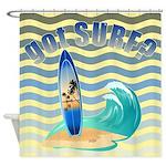 got SURF? Shower Curtain