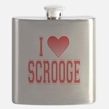 I love Scrooge Flask