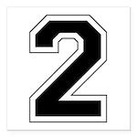 2 black.png Square Car Magnet 3