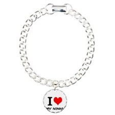 I Love My Nonna Charm Bracelet, One Charm