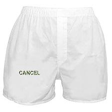 Cancel, Vintage Camo, Boxer Shorts