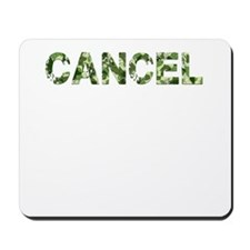 Cancel, Vintage Camo, Mousepad