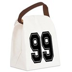 99.png Canvas Lunch Bag