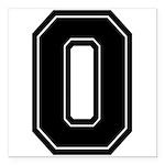 O.png Square Car Magnet 3