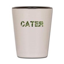 Cater, Vintage Camo, Shot Glass