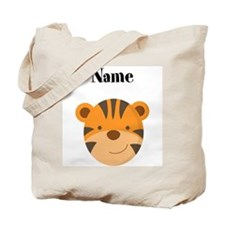 Personalized Tiger Tote Bag