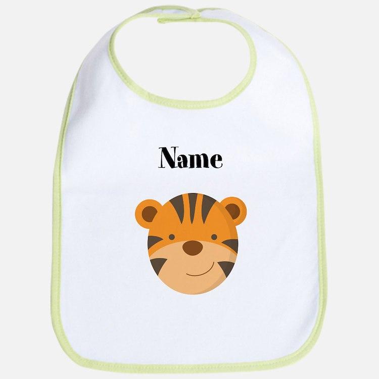 Personalized Tiger Bib