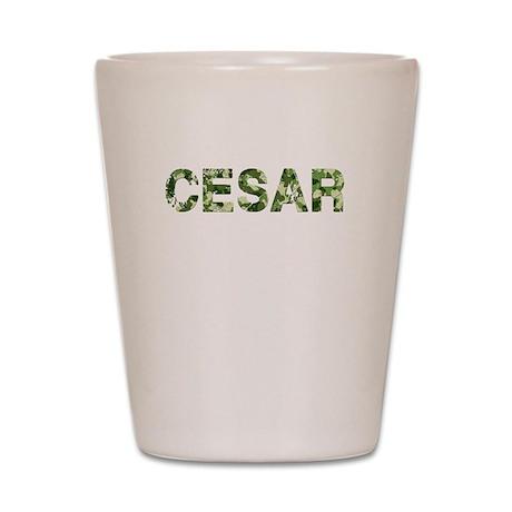 Cesar, Vintage Camo, Shot Glass