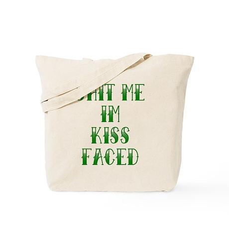 Kiss Faced Tattoo Tote Bag
