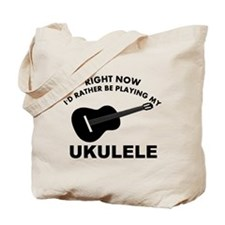 Ukulele silhouette designs Tote Bag