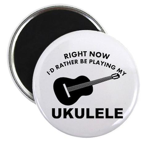 "Ukulele silhouette designs 2.25"" Magnet (100 pack)"