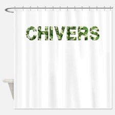 Chivers, Vintage Camo, Shower Curtain