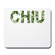 Chiu, Vintage Camo, Mousepad