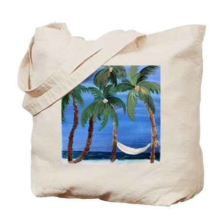 Hammock Palms Tote Bag