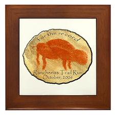 Rancherias Run Framed Tile