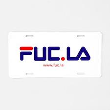 FUCLA Aluminum License Plate