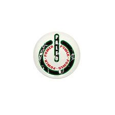 Paleo Power Circle Mini Button