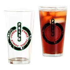 Paleo Power Circle Drinking Glass