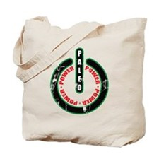 Paleo Power Circle Tote Bag