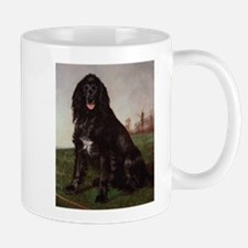 Vintage Painting of Black English Setter Mug