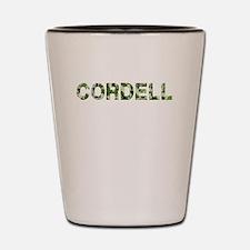 Cordell, Vintage Camo, Shot Glass
