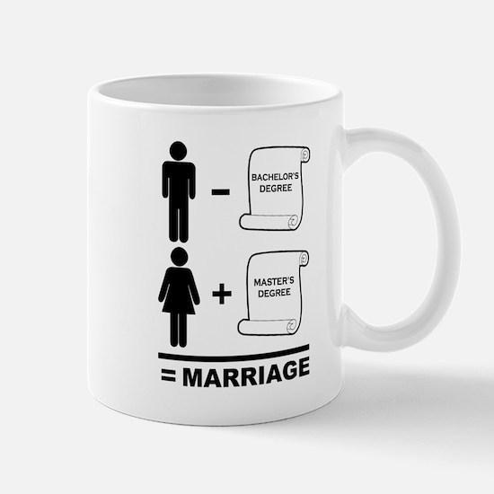 Marriage Degrees Mug
