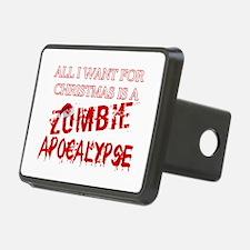 Christmas Zombie Apocalypse Hitch Cover