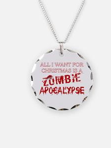 Christmas Zombie Apocalypse Necklace