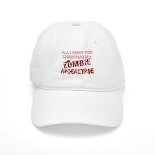 Christmas Zombie Apocalypse Baseball Cap