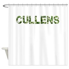 Cullens, Vintage Camo, Shower Curtain