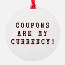 COUPONING Ornament