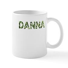 Danna, Vintage Camo, Small Mug