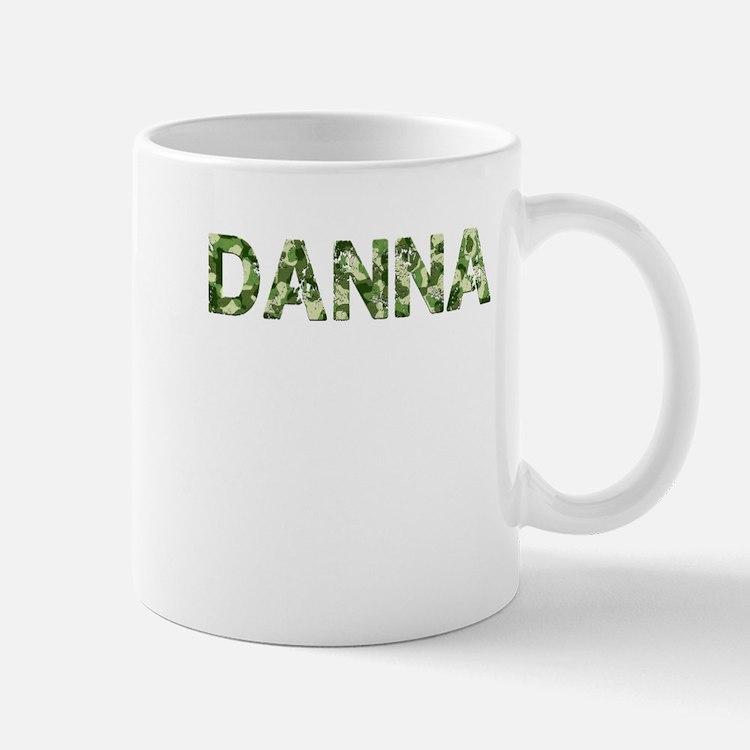 Danna, Vintage Camo, Small Small Mug