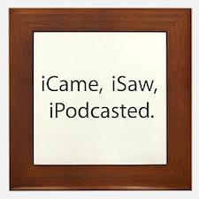 Podcast Framed Tile