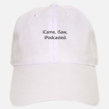Podcast Baseball Baseball Cap