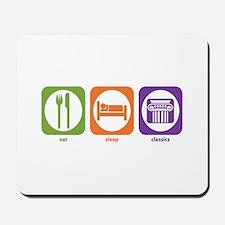 Eat Sleep Classics Mousepad