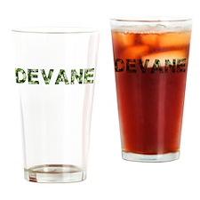 Devane, Vintage Camo, Drinking Glass
