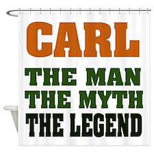Carl The Legend Shower Curtain