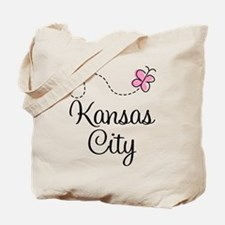 Pretty Kansas City Tote Bag