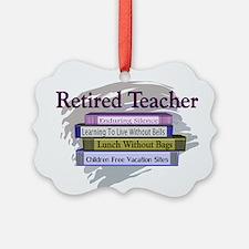 Cute Teacher retirement Ornament
