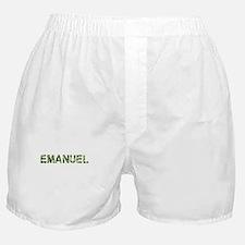 Emanuel, Vintage Camo, Boxer Shorts