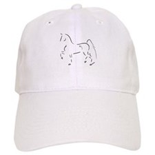 Stylized 3-Gaited American Saddlebred Baseball Cap