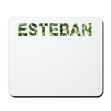Esteban, Vintage Camo, Mousepad