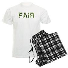 Fair, Vintage Camo, Pajamas