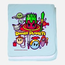 DWARF PLANETS - baby blanket