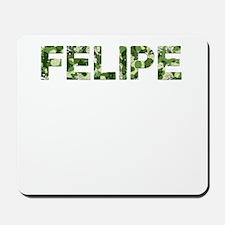 Felipe, Vintage Camo, Mousepad