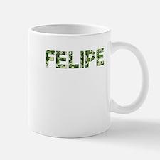 Felipe, Vintage Camo, Small Small Mug