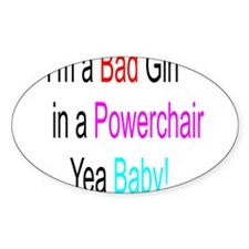 Im a Bad Girl #1 Decal