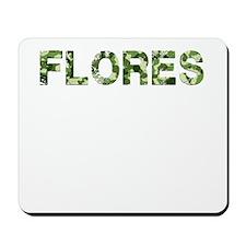 Flores, Vintage Camo, Mousepad