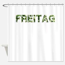 Freitag, Vintage Camo, Shower Curtain